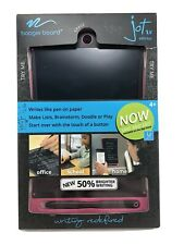 Boogie Board Jot 8.5 LCD eWriter & Stylus Pink Edit Save Share Notes Jot APP NEW