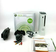 Microsoft Xbox 360 Pro 60Gb Console Bundle + Cables + Controller *Tested* Works
