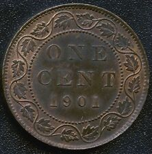 1901 Canada Large 1 Cent Coin