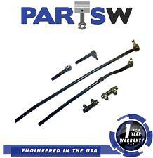 6 Piece Suspension Set for Dodge Ram 1500 2500 Ld 99-98 Steering Tie Rod Ends