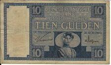 10 Gulden März 1929 Zeeuws Meisje