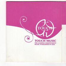 (EZ982) Touch Music, 18 track sampler, various artists - DJ CD