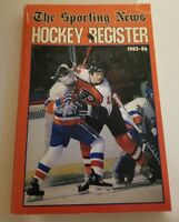 Sporting news Hockey Register 1985-86