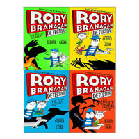 Andrew Clover Rory Branagan Detective Series Book (1-4) 4 Books Collection Set