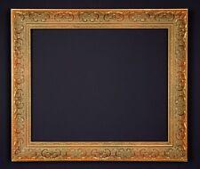 Bilderrahmen alt massiv Prunk Gold Holz Stuck Historismus Antik-Stil Rahmen