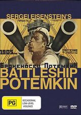 BATTLESHIP POTEMKIN DVD ( 1925 ,Silent Film)  BOUNTY FILMS NEW REGION 4