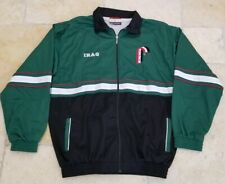 Vintage Iraq Iraqi Olympic Training Jacket Sweatshirt Zip Up - Mens XL