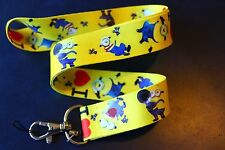 MINIONS ! I LOVE MINIONS ! Lanyard Keychain ID Badge Holder DESPICABLE ME