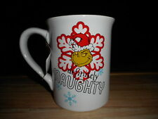 Dept 56 How The Grinch Stole Christmas Define Naughty 16 Oz Coffee Mug Cup New