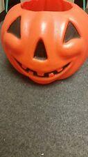 Vintage Plastic Jack O Lantern Candy Pail Bucket