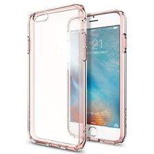 Apple iPhone 6S Bumper Case Rose Back Slim Cover Anti Scratch Screen Protector