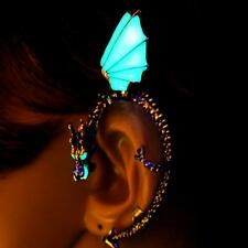 Dragon Ear Cuff Vintage Luminous Punk Wrap Gothic Earring Clip