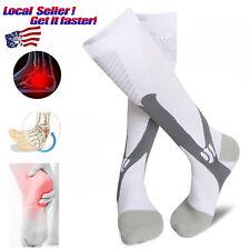Graduated Compression Socks Sports Running Circulation Flight Travel Nurses HOT