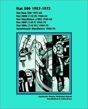 FIAT 500 NEW 500D D 500F F 500L L Owners Repair Service Manual Workshop Handbook