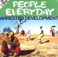 CD single ARRESTED DEVELOPMENT	People everyday 2-track CARD SLEEVE