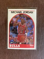 1989-90 Michael Jordan NBA Hoops #200 Chicago Bulls