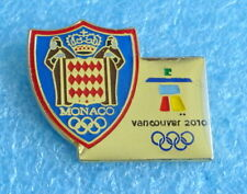 2010 VANCOUVER Olympics MONACO NOC pin BADGE Winter Olympic Games