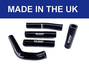 KTM 250SX SX 250 300 RADIATOR HOSES SILICONE HOSE PIPES KIT BLACK 2001-2006