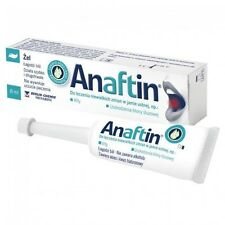 Anaftin gel, 8 ml minor oral injuries, mouth stomatitis, mouth ulcers diffuse
