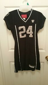 SEXY! WOMEN'S NFL RAIDERS Dress - #24 - Light Knit- Fully Lined - REEBOK - Small