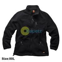 Scruffs WORKER Fleece Black Men's Water Resistant Work Jacket XXL