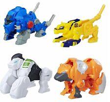 Playskool Transformers Rescue Bots 4pk Swift Valor Silverback Sequoia Hasbro
