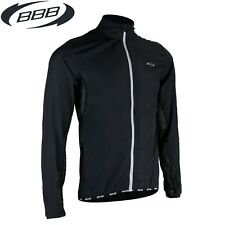 BBB Mistralshield Windproof Cycling Jacket - Black - Sizes M L XL