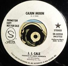 JJ Cale 45 Cajun Moon Promo Rock Mono Stereo MINT Mid Tempo Groover Shelter