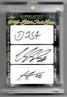2019-20 Stamkos-Kane-Burns-Sedin-Giroux-Elias Leaf Superlative All-Star Auto 1/1