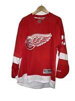 Reebok Premier NHL Jersey Detroit Redwings #21 Tomas Tatar Men sz Large