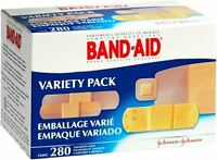 BAND-AID Bandages Variety Pack 280 Each (Pack of 6)