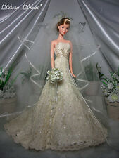Barbie carolina herrera Bride barbie Gold Label NRFB! Mint!