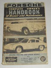 Manuel de Réparation Porsche 356 Modèle Original / A/B,Année Construction 1948 -