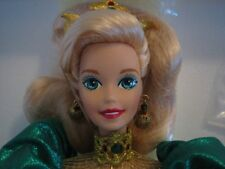 HOLIDAY JEWEL porcelain BARBIE - NRFB - Mint in box - RETAIL VALUE $200