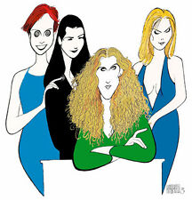 Sarah Jessica Parker & the Girls - Sex in the City  Litho by Al Hirschfeld FS