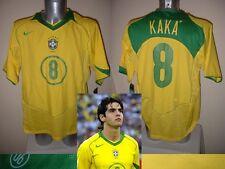Il BRASILE BRASIL NEW NUOVO con etichetta Nike KAKA calcio in maglia jersey 2004 adulto XL TOP