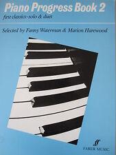 PIANO PROGRESS BOOK 2 First Classics Solo & Duet ed. Fanny Waterman pub. Faber