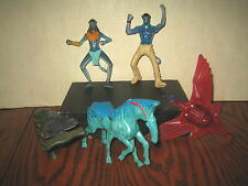 """5 RARE HTF AVATAR COLLECTABLE FIGURES LOT , """" SOLD AS IS """""""
