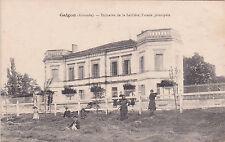 GALGON domaine de la sablière façade principale écrite 1926