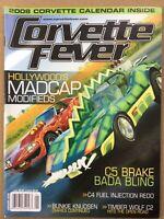 Corvette Fever Magazine - January 2008 - Rare Finds, Death Race 2000,  Smokey