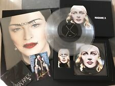 MADONNA PACK Madame XDeluxe Box Collector CD+ Picture vinyle+ K7+ LP CLEAR VINYL