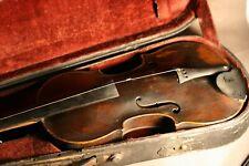 Violon Français ancien J.Barbé c.1800 à restaurer  - fine antique French violin
