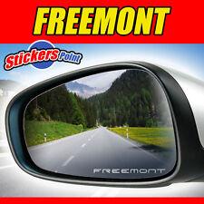ADESIVI x specchietti FREEMONT FIAT  - PVC effetto vetro smerigliato
