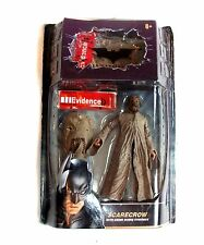 "DC Comics batman dark knight movie masters scarecrow 6"" figure, ouvert, rare"
