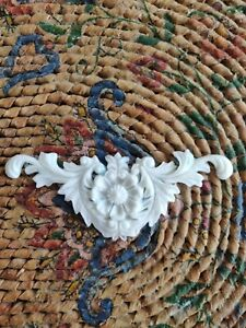 SHABBY CHIC DECORATIVE ONLAY CRAFT FURNITURE MOLDINGS  caboshon RESIN