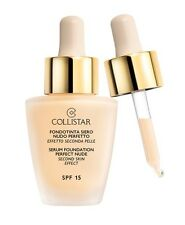 Collistar Fondotinta Siero Nudo perfetto 1 Avorio Spf15 30ml - Foundation