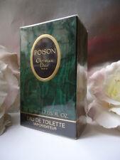 Dior Poison EdT 50ml 1.7oz Rare Vintage 1988 Sealed Box & Luxus DIOR Geschenkverpackung