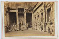 Tempio Di Diane Per Nîmes , Vintage Albumina Ca 1890