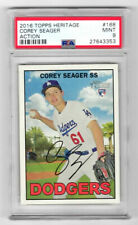 2016 Corey Seager Topps Heritage SP Variation RC PSA 9 Dodgers