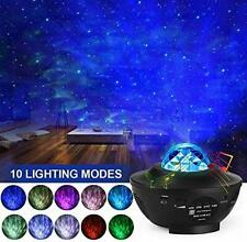 LED Star Light Projector Home Night Light, 2 in 1 Starry Space Nebula
